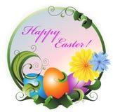 Tarjeta de felicitación de Pascua. Foto de archivo libre de regalías