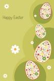 Tarjeta de felicitación de Pascua Fotografía de archivo libre de regalías