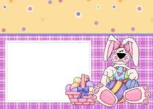Tarjeta de felicitación de Pascua Foto de archivo libre de regalías