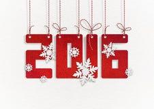 Tarjeta de felicitación del Año Nuevo Imagenes de archivo