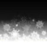 Tarjeta de felicitación del arte abstracto de la Navidad Imagenes de archivo
