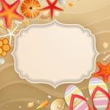 Tarjeta de felicitación del día de fiesta de la vendimia Imagenes de archivo