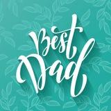 Tarjeta de felicitación del día de padre con el modelo de Paisley Imagenes de archivo