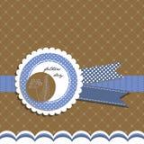 Tarjeta de felicitación del día de padres Imagen de archivo libre de regalías