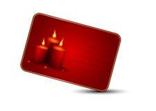 Tarjeta de felicitación del día de tarjeta del día de San Valentín del santo Fotos de archivo