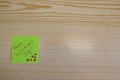 Tarjeta de felicitación del día del ` s de la tarjeta del día de San Valentín, buenas fiestas Fotografía de archivo libre de regalías