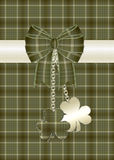 Tarjeta de felicitación del día del St. Patrick 6 Fotos de archivo libres de regalías