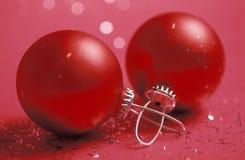 tarjeta de felicitación del Nuevo-año Imagen de archivo