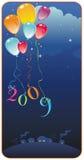 Tarjeta de felicitación del vector 2009. libre illustration