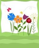 Tarjeta de felicitación del verano Foto de archivo