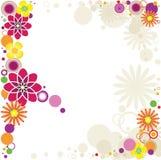 Tarjeta de felicitación del verano. Imagen de archivo libre de regalías