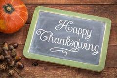 Tarjeta de felicitación feliz de la acción de gracias Foto de archivo libre de regalías