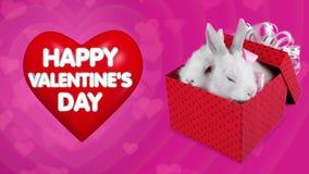 Tarjeta de felicitación festiva para el día de tarjetas del día de San Valentín, corazón rojo grande con las letras libre illustration