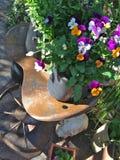 Tarjeta de felicitación florida de la granja Fotos de archivo libres de regalías