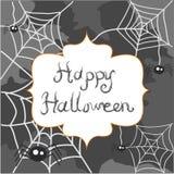 Tarjeta de felicitación de Halloween Imagen de archivo