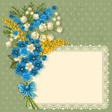 Tarjeta de felicitación linda Fotografía de archivo libre de regalías