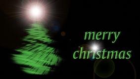 Tarjeta de felicitación de Navidad fotografía de archivo libre de regalías