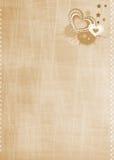 Tarjeta de felicitación para el día de tarjeta del día de San Valentín Imagen de archivo