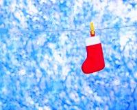 Tarjeta de felicitación para la Navidad Foto de archivo libre de regalías