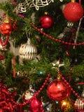 Tarjeta de felicitación para las vacaciones alegres de la Navidad Imagen de archivo libre de regalías