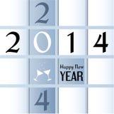Tarjeta de felicitación por Año Nuevo. Imagen de archivo