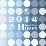 Tarjeta de felicitación por Año Nuevo. Foto de archivo libre de regalías