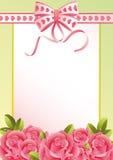 Tarjeta de felicitación Imagen de archivo
