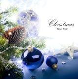 Tarjeta de felicitación de la Navidad del arte Imagen de archivo libre de regalías