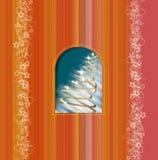 Tarjeta de felicitaciones ilustración del vector