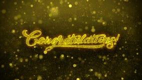 Tarjeta de felicitaciones de los deseos de la enhorabuena, invitación, fuego artificial de la celebración libre illustration