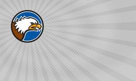 Tarjeta de griterío de Eagle Fitness Gym Business stock de ilustración