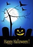 Tarjeta de Halloween stock de ilustración