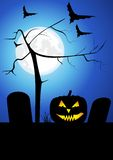 Tarjeta de Halloween libre illustration