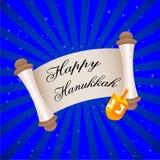 Tarjeta de Hanukkah