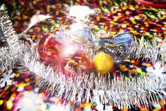 Tarjeta de Hristmas, Año Nuevo, la Navidad Fotografía de archivo libre de regalías