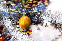 Tarjeta de Hristmas, Año Nuevo, la Navidad Foto de archivo libre de regalías