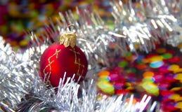 Tarjeta de Hristmas, Año Nuevo, la Navidad Imagen de archivo