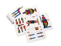 Tarjeta de juego Imágenes de archivo libres de regalías