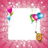 Tarjeta de la celebración Fotos de archivo libres de regalías