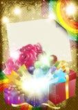 Tarjeta de la celebración Imagen de archivo libre de regalías