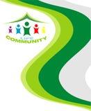 Tarjeta de la comunidad de la vida