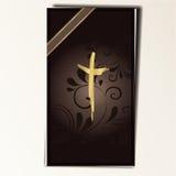 Tarjeta de la condolencia Imagen de archivo libre de regalías