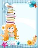 Tarjeta de la escuela stock de ilustración