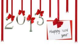 Tarjeta de la Feliz Año Nuevo Fotografía de archivo