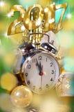 Tarjeta de la Feliz Año Nuevo 2017 Imagenes de archivo