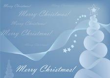 Tarjeta de la Feliz Navidad Fotografía de archivo libre de regalías