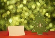 Tarjeta de la Feliz Navidad imágenes de archivo libres de regalías