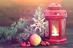 Tarjeta de la Feliz Navidad Fotografía de archivo