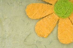 Tarjeta de la flor Imagenes de archivo