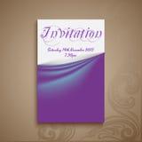 Tarjeta _1 de la invitación stock de ilustración